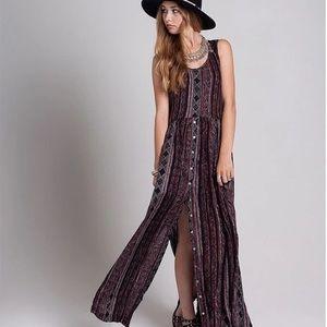 Knot Sisters Maywood Tribal Print Maxi Dress